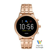 Fossil Gen 5 Julianna HR Women's Smartwatch - Rose Stainless Steel - Powered with Wear OS by Google