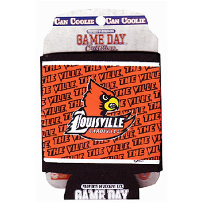 ddi 385000 university of louisville can cooler, pocket wrap 12 display unit, case of 48