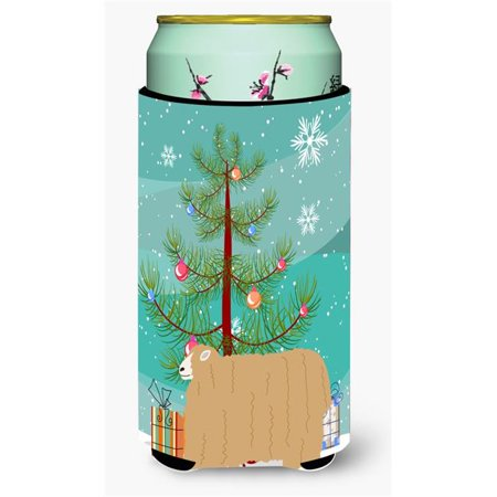 Carolines Treasures BB9338TBC Lincoln Longwool Sheep Christmas Tall Boy Beverage Insulator Hugger - image 1 de 1