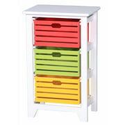 Enticing 3-Tier Storage Cabinet ,White