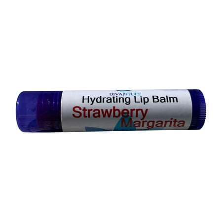 Best Formula Fun Flavored Lip Balm By Diva Stuff, Lots to Choose From and Super Soft Lips (Strawberry