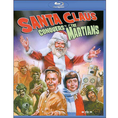 Santa Claus Conquers The Martians (Blu-ray)