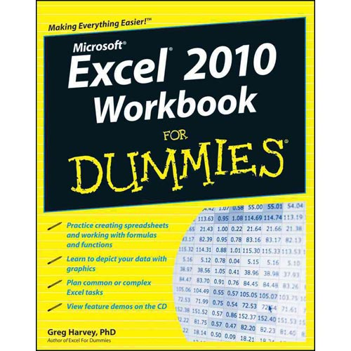 Excel 2010 Workbook for Dummies [With CDROM]