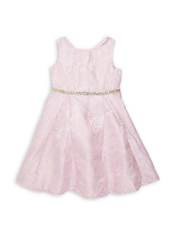 Little Girl's Pammy Floral-Print Dress