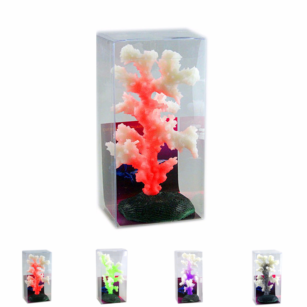 Luminous Sea Anemone Aquarium Artificial Silicone Coral Plant Fish Tank Decoration