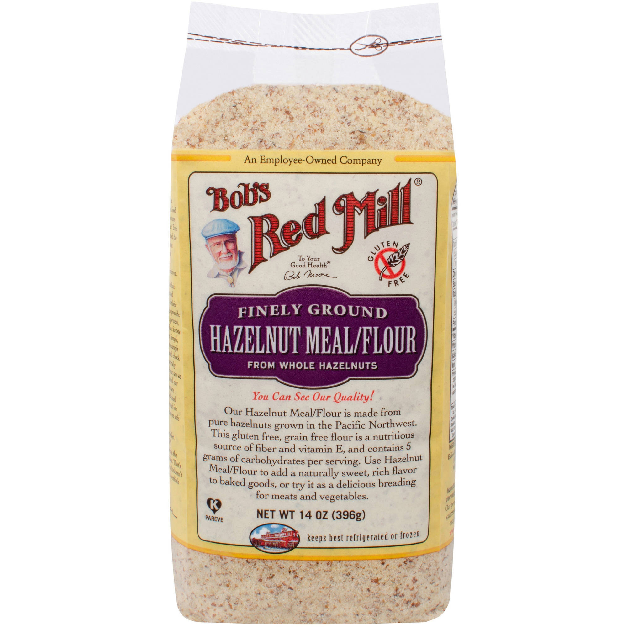 Bob's Red Mill Finely Ground Hazelnut Flour, 14 oz (Pack of 4) by Generic
