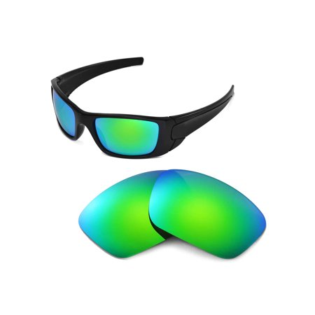 dae211a045 Walleva - Walleva Emerald Polarized Replacement Lenses for Oakley Fuel Cell  Sunglasses - Walmart.com