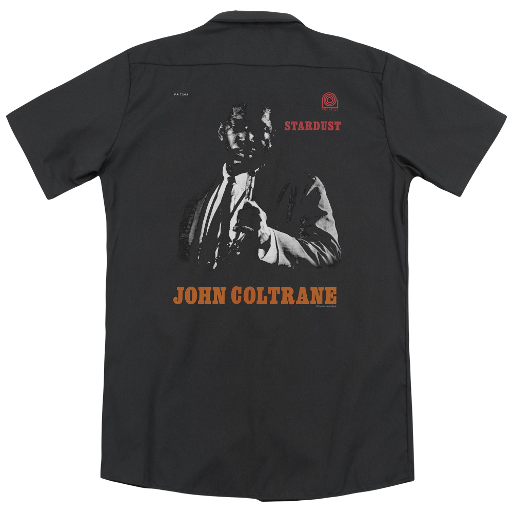 John Coltrane Coltrane (Back Print) Mens Work Shirt
