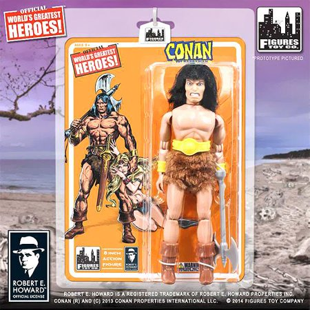 World's Greatest Heroes! Series 1 Conan The Barbarian Action Figure Barbarian Action Figure Series