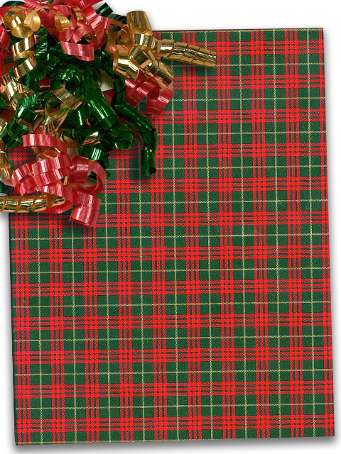 """plaid christmas wrapping paper 24"""" x 100u0027 by paper mart walmart complaid christmas wrapping paper 24"""" x 100u0027 by paper mart"""