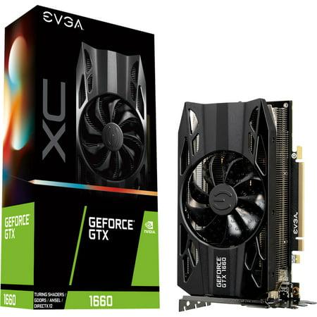 EVGA GeForce GTX 1660 XC Black Gam 06G-P4-1161-KR Graphic Card - Plus Free TORQ X5