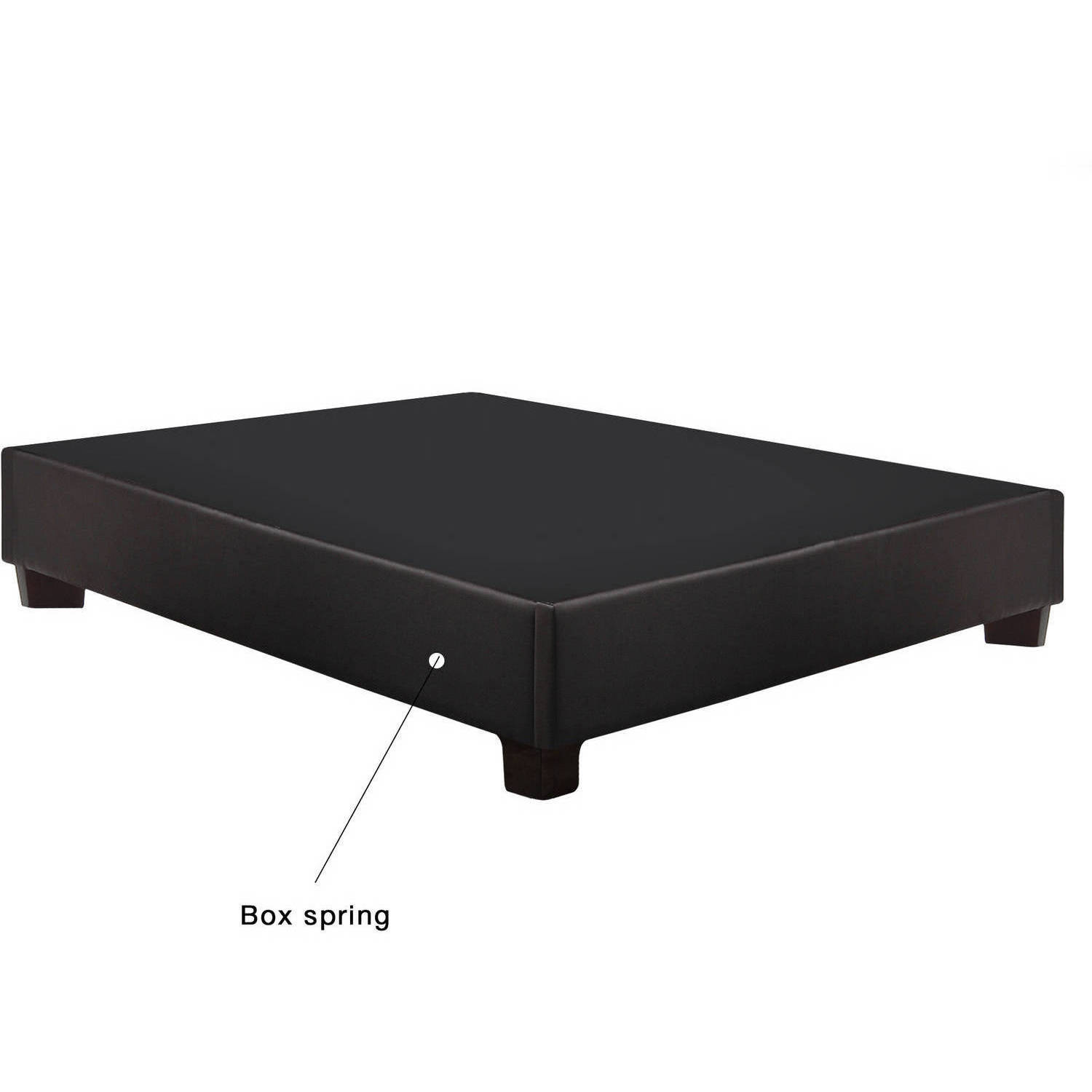 Continental Sleep Foundation Platform Bed with Legs by Comfort Bedding