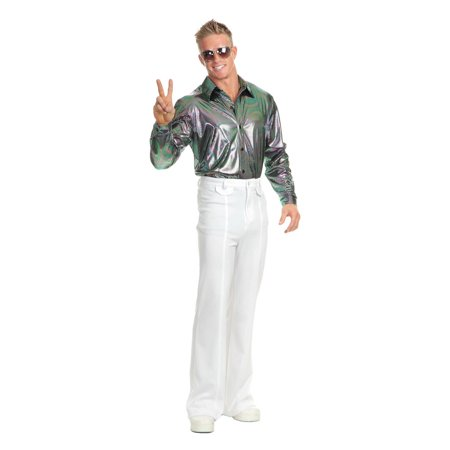 Halloween Multi Nail Head Disco Shirt - Mens Disco Shirt