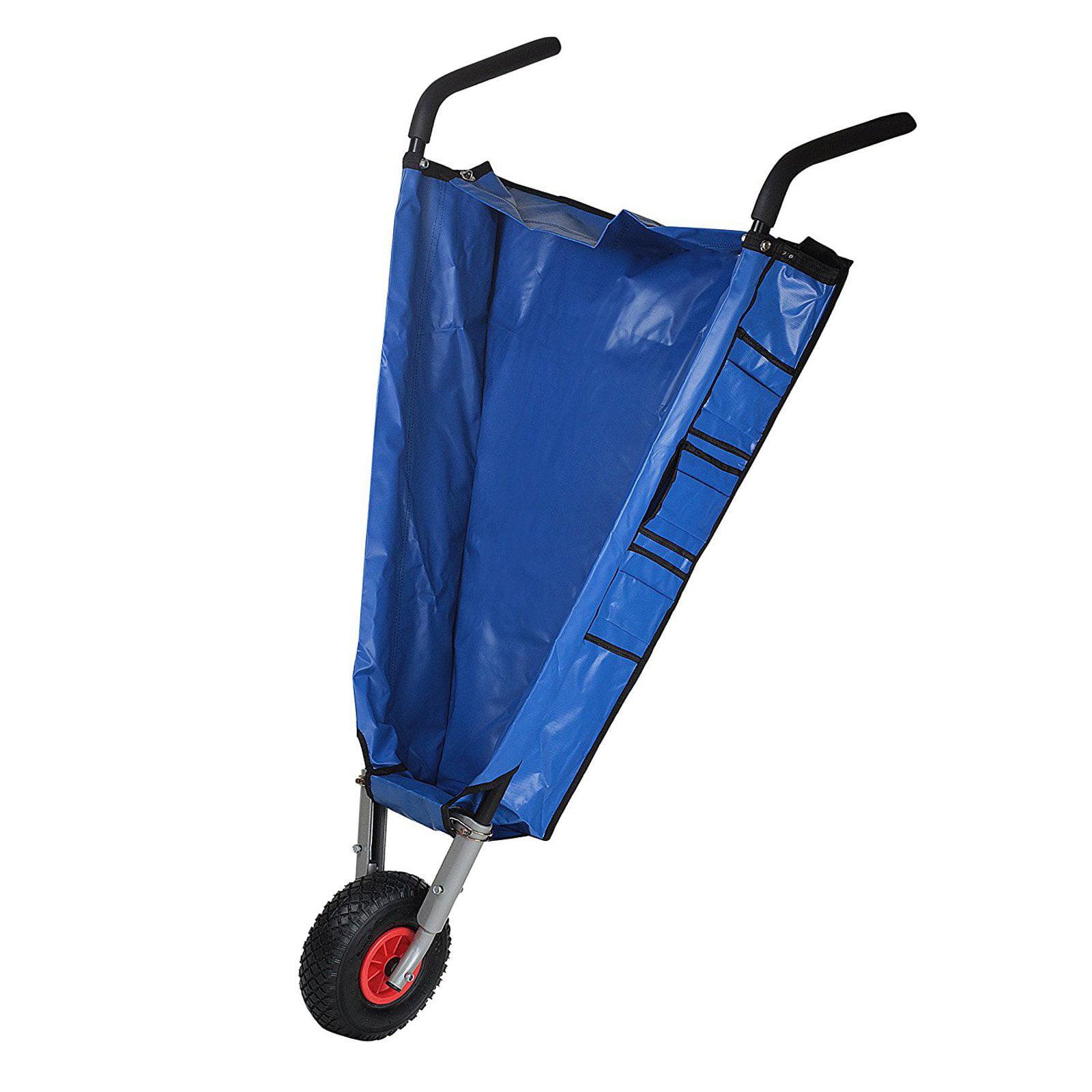 Ultimate Innovations Folding Wheelbarrow