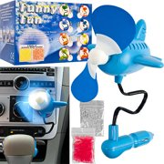 Stalwart 12V Airplane Shaped Auto Air Freshening Scent Fan