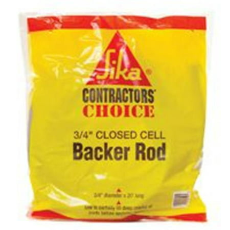 Sika Corporation 108130/MD65318 Closed Cell Backer Rod, Gray ()
