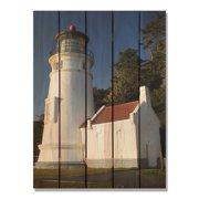 Day Dream HQ LH1624 16 x 24 in. Light House Inside & Outside Cedar Wall Art