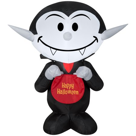 Lowes Halloween Inflatables (Airblown Inflatable Candy Vampire by Gemmy)