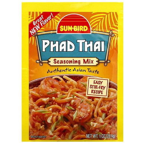 Sun bird phad thai seasoning mix 1 oz pack of 24 walmart com