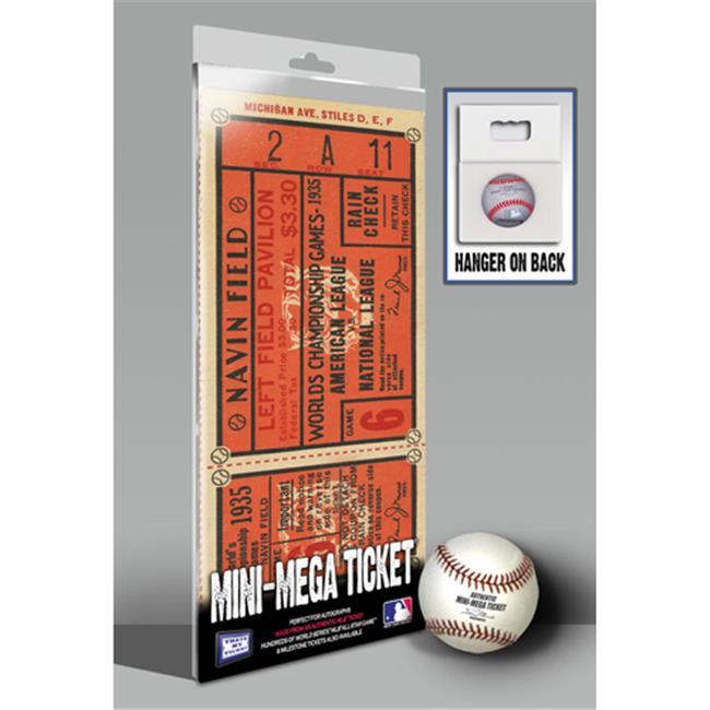 Thats My Ticket TMT-BDETMMWS35 1935 World Series Mini-Mega Ticket, Detroit Tigers