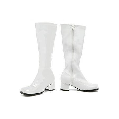 Toddler White Gogo Boots](Sequin Gogo Boots)