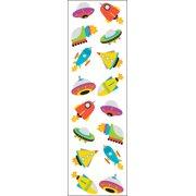 Mrs. Grossman's Stickers-Chubby Rocketships