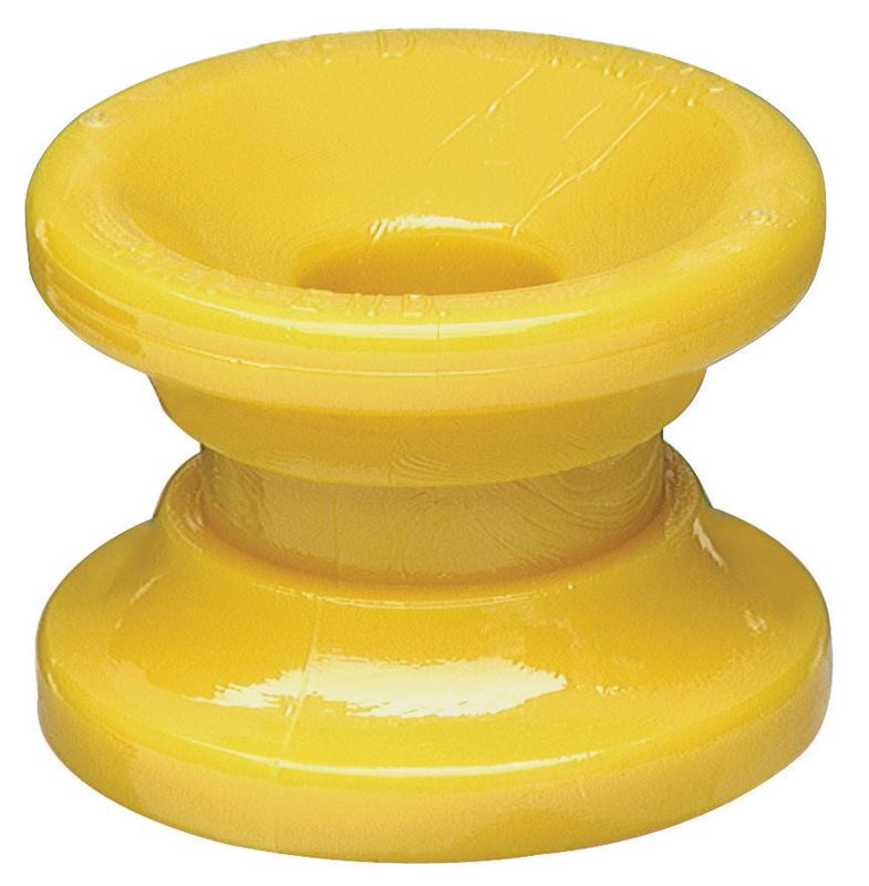 Zareba ICDY-Z Corner Insulator, Yellow, Pack of 10