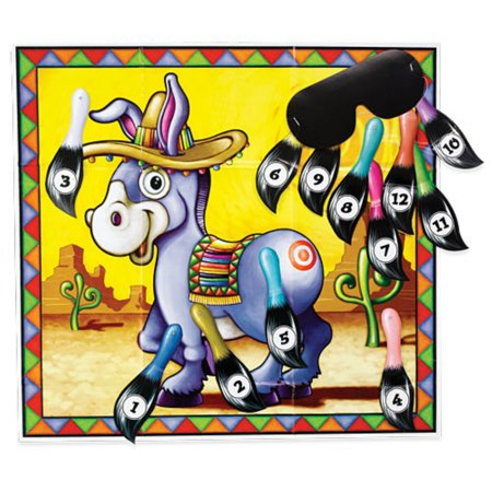 The Donkey Game (Pin the Tail on the Donkey)