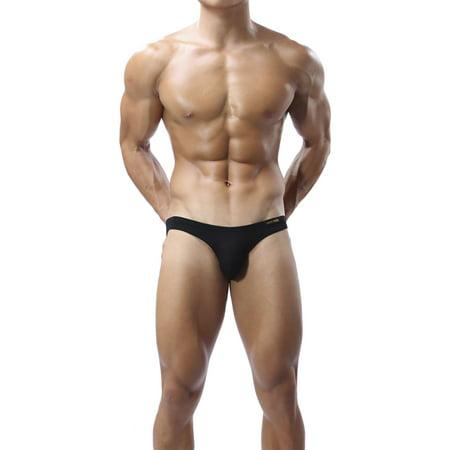 Brave Person Modal Elastic Mens Underwear Bulge Pouch Bikini Briefs