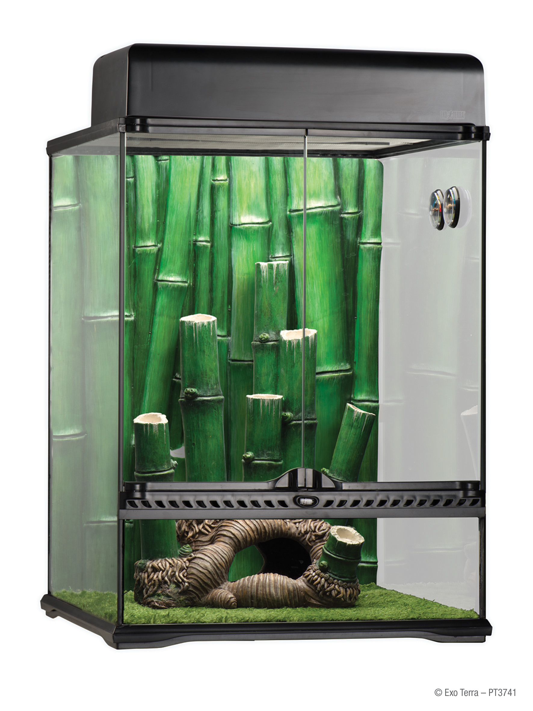 Exo Terra Large 34-Gallon Bamboo Forest Reptile Habitat by Hagen