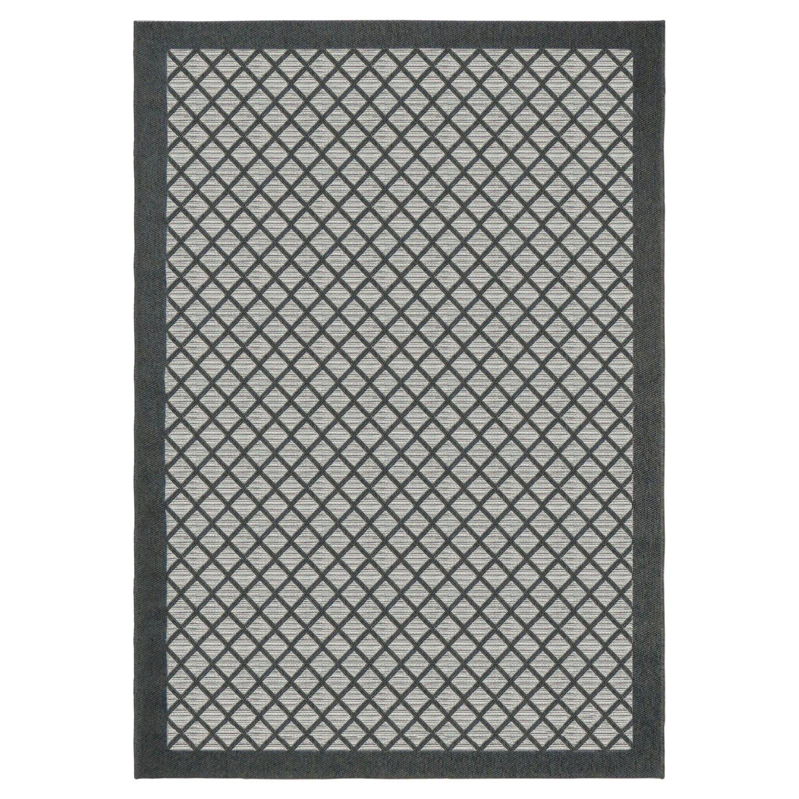 Orian Rugs Indoor/Outdoor Squares Fusion Trellis Area Rug