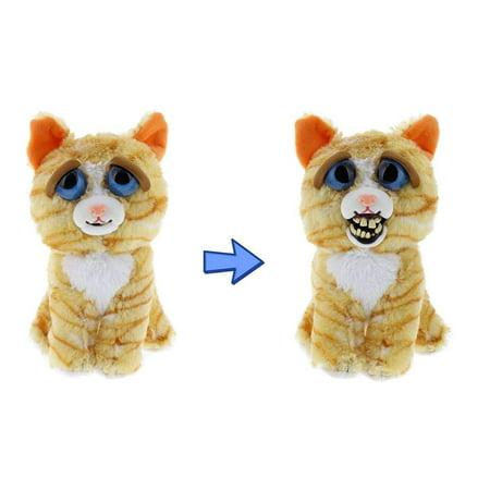 Feisty Pets Princess Pottymouth the Cat Derpy Face Plush (Plush Cat)