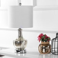 """Colette 20"""" Mini Glass LED Table Lamp, Multiple Colors by JONATHAN Y"""