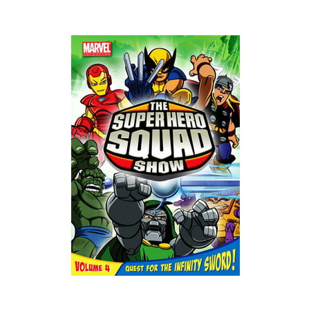 Super Heroes Squad Show (The Super Hero Squad Show Volume 4: Quest for the Infinity Sword)