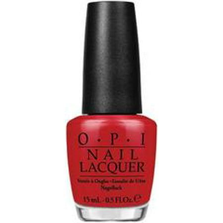OPI Nail Lacquer Polish .5oz/15mL - Red Hot Rio A70 - image 1 de 1