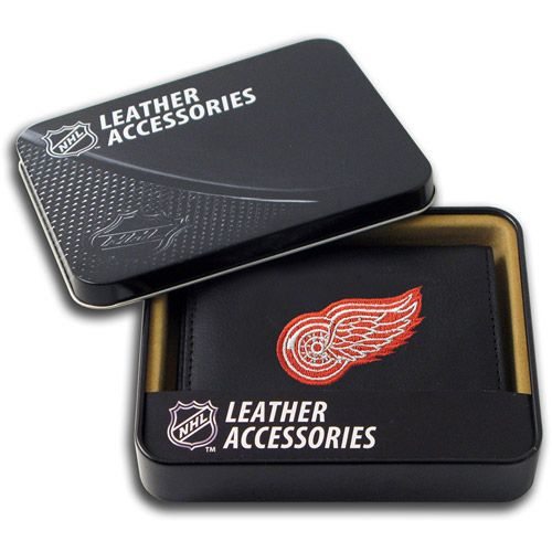 NHL - Men's Detroit Red Wings Embroidered Trifold Wallet