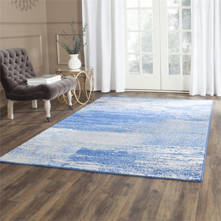 """Safavieh Adirondack 2'6"""" X 20' Power Loomed Rug in Silver and Blue - image 1 de 3"""