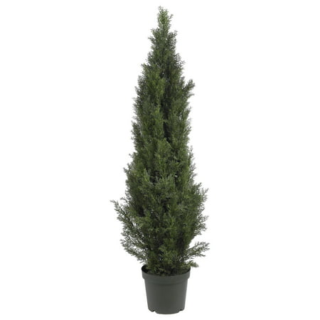 Nearly Natural 5 ft. Mini Cedar Pine Tree