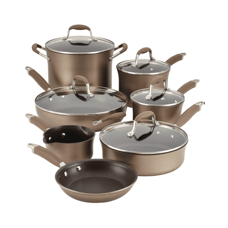 - Anolon Cast 12-Piece Cookware Set