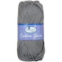 Threadart 100% Pure Cotton Crochet Yarn   Lavender   50 gram Skeins   Worsted Medium #4 Yarn   85 yds per Skein - 30 Colors Available