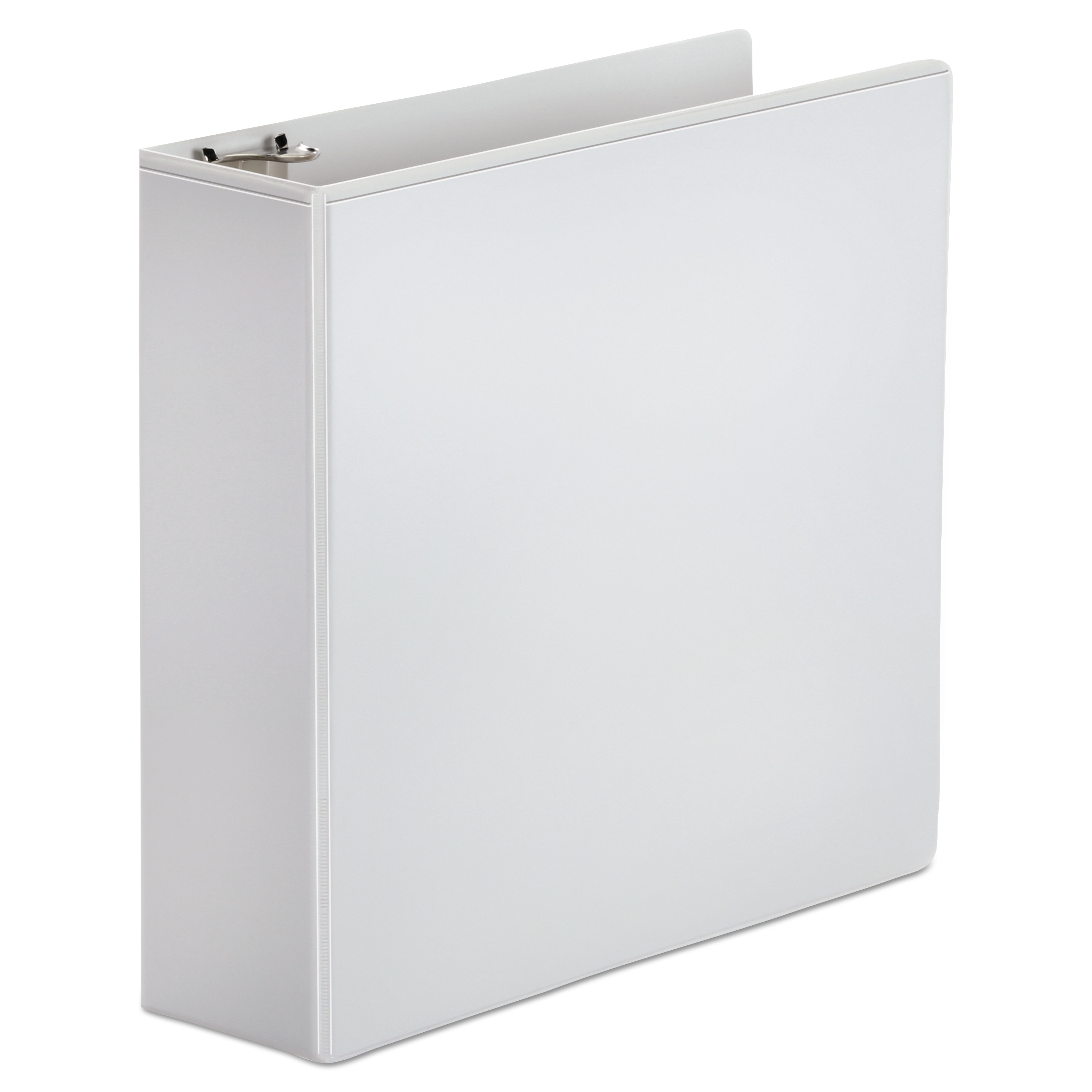 """Office Impressions Economy Round Ring View Binder, 3"""" Capacity, White -OFF82236"""