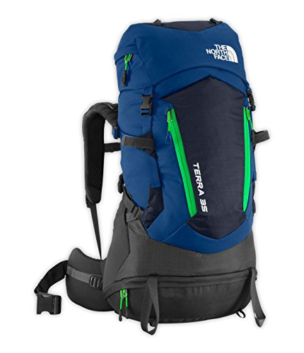 North Face Terra 35 Backpack Youth Estate Blue/Blarney Gr...
