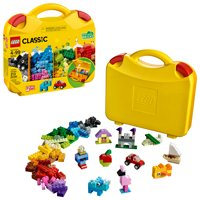 LEGO Classic Creative Suitcase 10713 Kids Building Toy Creative Learning Blocks Age 4+ Toy Storage (213 Pieces)