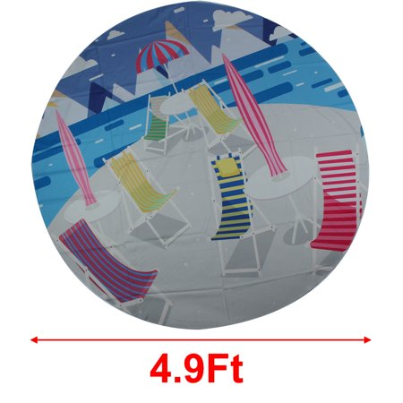 Beach Wall Throw Tapestries Towel Blanket Picnic Mat Tablecloth Camping Rug #7 - image 4 of 5