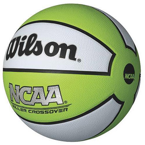 "Wilson NCAA Killer Crossover 27.5"" Basketball, Lime"