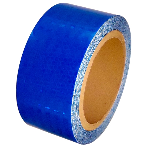 2 inch x 30 ft Blue Super Bright High Intensity Reflective Tape