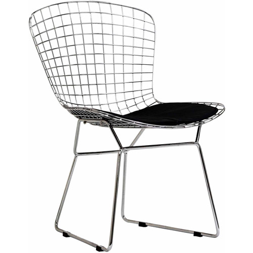 Modway Cad Wire Side Chair, Multiple Colors