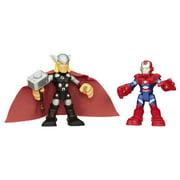 Super Hero Adventure Sha Thor And Iron Patriot