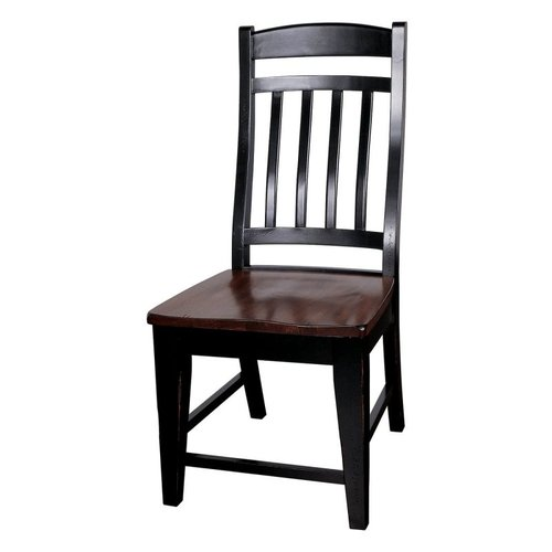 GS Furniture RV105W01E1 Riverside Slat Back Side Chair 2