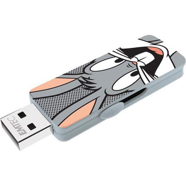 Emtec ECMMD16GM700L104 16 GB M700 LT USB 2.0 Bugs Bunny Flash Drive